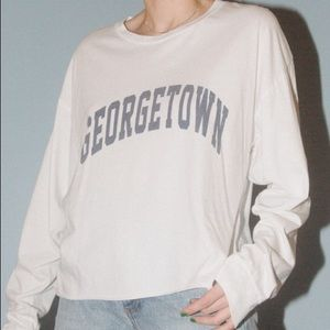 Brandy Melville Georgetown Camila top